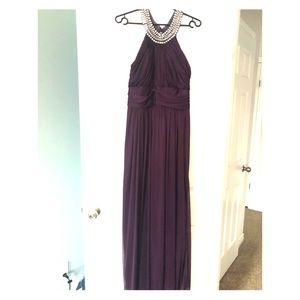 Dresses & Skirts - Beautiful plum purple high neck dress